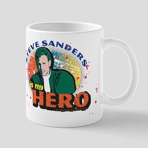 90210 Steve Sanders is my Hero 11 oz Ceramic Mug