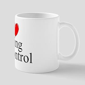 """I Love (Heart) Being In Control"" Mug"