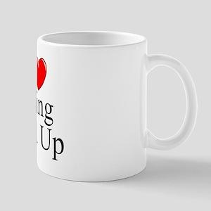 """I Love (Heart) Being Tied Up"" Mug"