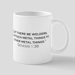 The creation of Welders 11 oz Ceramic Mug