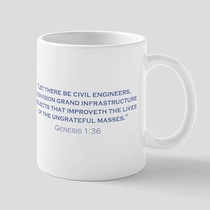 Civil Engineers / Genesis Mug