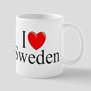 """""""I Love Sweden"""" Mug"""