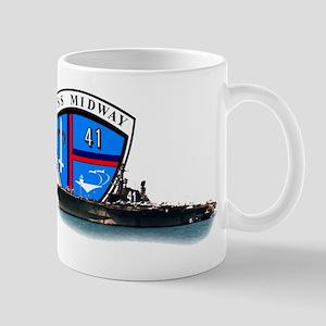 USS Midway CV-41 Mug