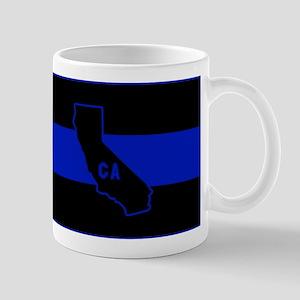 Thin Blue Line - California Mugs
