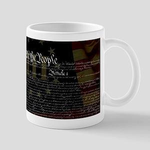 U.S. Outline - Constitution Mugs
