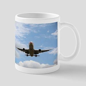 Jet Coming In for a Landing Mug