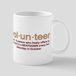 Volunteer definition Mug