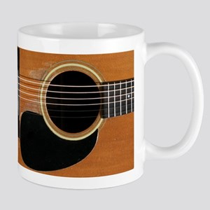 Old, Acoustic Guitar Mug