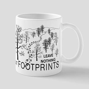 Leave Nothing but Footprints Mug