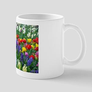 Spring Garden Flowers Mugs