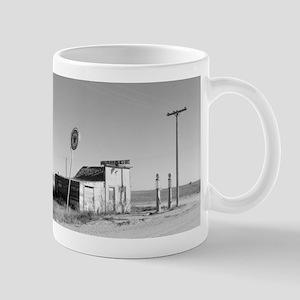 Abandoned Texaco Station Mugs