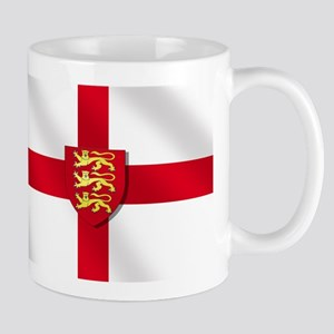 England Three Lions Flag Mug