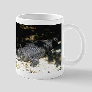 Alligator Sunbathing Mugs