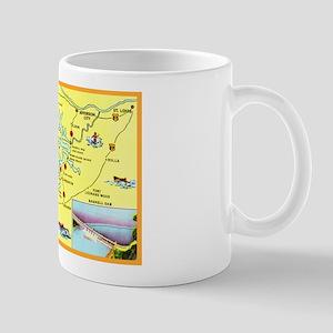 Lake of the Ozarks Map Mug
