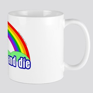 Eat Shit Rainbow Mug