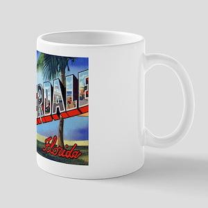 Fort Lauderdale Florida Greetings Mug