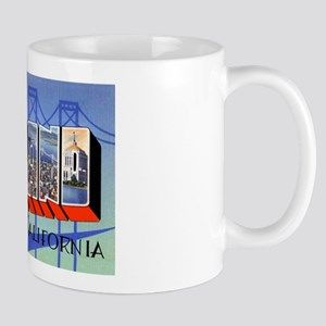 Oakland California Greetings Mug