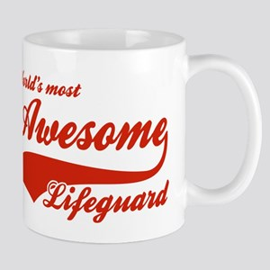 World's Most Awesome Life guard Mug