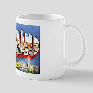 Cleveland Ohio Greetings Mug