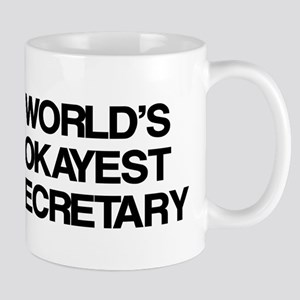 World's Okayest Secretary Mug
