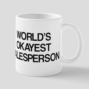 World's Okayest Salesperson Mug