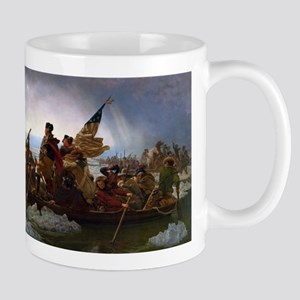 Washington Crossing the Delaware E Gottlieb L Mugs