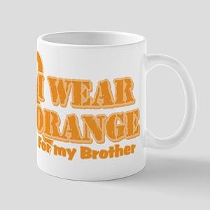 I wear orange brother Mug