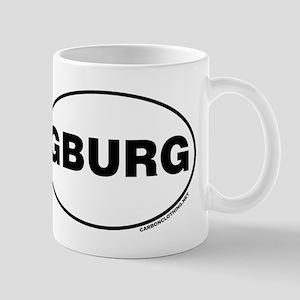Gettysburg, GBURG Small Mug