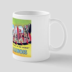 Oak Park Illinois Greetings Mug