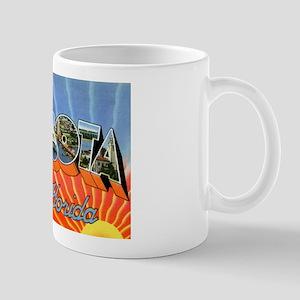 Sarasota Florida Greetings Mug