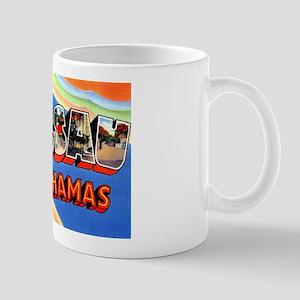 Nassau Bahamas Greetings Mug