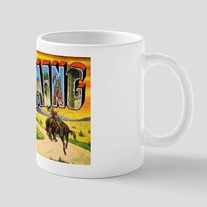 Wyoming Greetings Mug