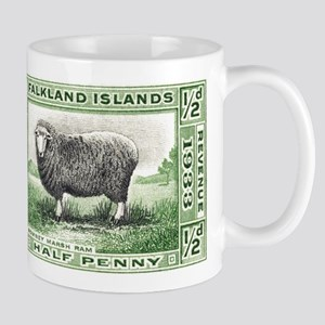 Falkland Islands Ram Postage Stamp Mug