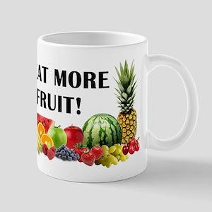 Eat More Fruit Mugs