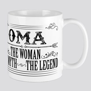 Oma The Legend... Mugs