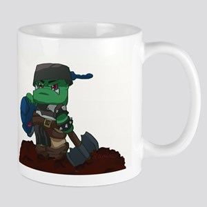 Chibi Ork Pot Head Mug