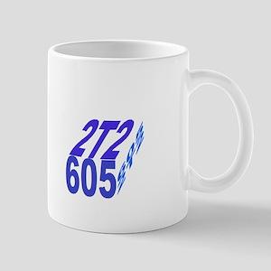 2tt2/605 cube Mugs