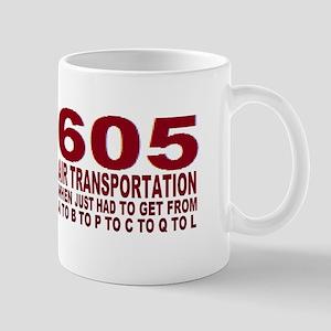 605 air trans Mugs