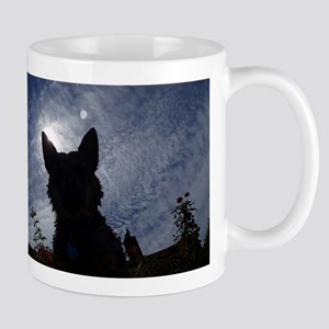 Stealthy Cattle Dog Mugs