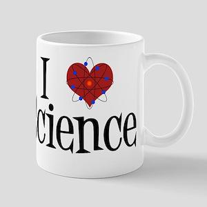 I Love Science 11 oz Ceramic Mug