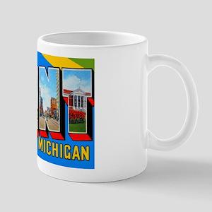 Flint Michigan Greetings Mug