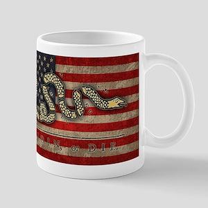 Join, Or Die -Flag Mug