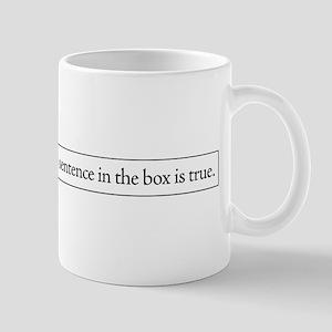 The Sentence in the Box Mug