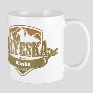Alyeska Alaska Ski Resort 4 Mugs