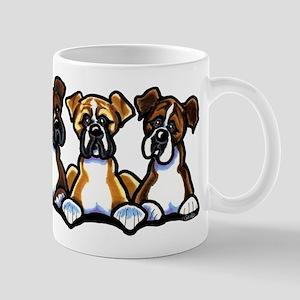 Three Boxer Lover Mug