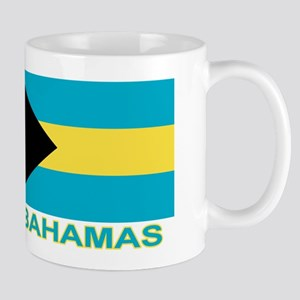 Bahamian Flag (labeled) Mug