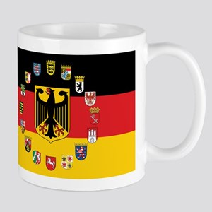 German Flag with State Arms Mugs