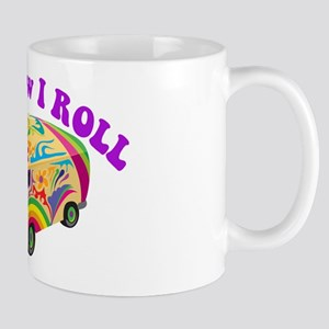 How I Roll (Hippie Van) Mug