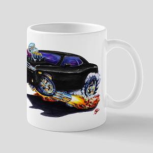 Challenger Black Car Mug