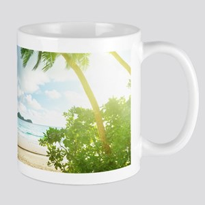 Tropical Beach Mugs